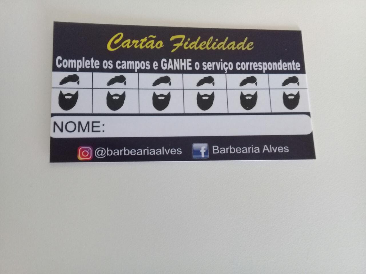 Barbearia Alves